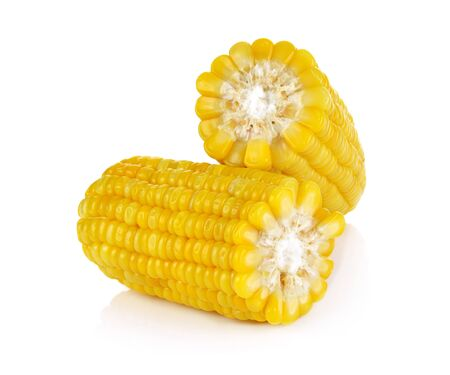 Photo for corn isolated on white background - Royalty Free Image