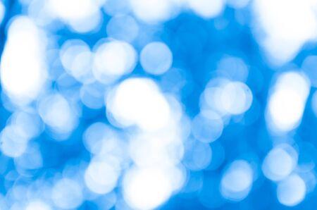 Photo pour Beautiful Blue Bokeh Background - image libre de droit