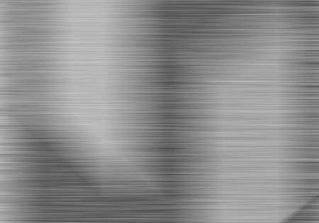 Photo pour brushed steel or aluminium metal background texture - image libre de droit