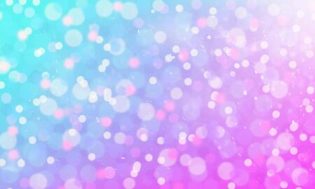 Festive magic background with colorful bokeh, Christmas New Year disco party