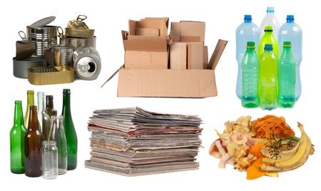 Garbage that can be recycled
