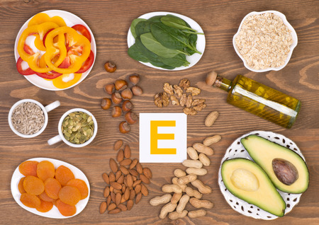 Vitamin E containing foods