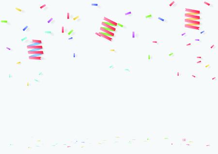 celebration background template vector illustration