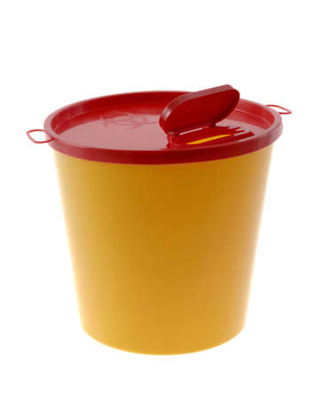 yellow small medical waste for safely trush