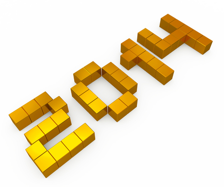year 2014 cubic golden