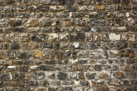 texture of the old stone wal