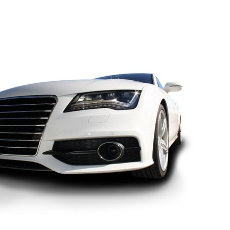 White Sports Car released