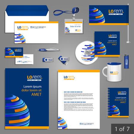 水色の便箋テンプレート デザイン デジタル惑星ビジネスのための