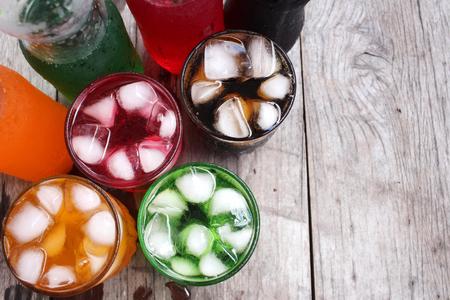 Photo pour Soft drinks - image libre de droit