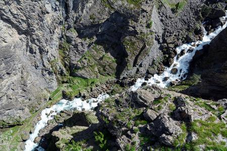 Ravine Pre -Saint-Didier - Aosta Valley - north Italy