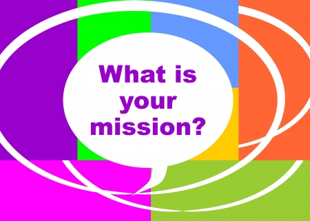 What is your mission question, presented in a poster
