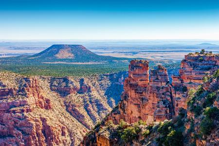 Grand Canyon, Cedar Mountain at Desert View, Arizona, USA