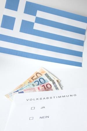 symbol photo: popular vote in Greece
