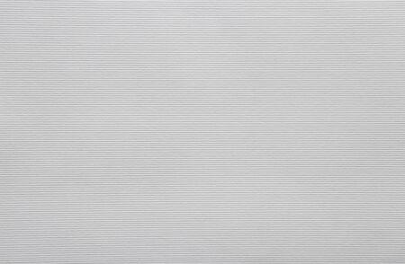 Photo pour White textured horizontal striped paper sheet for handiwork and scrapbooking - image libre de droit