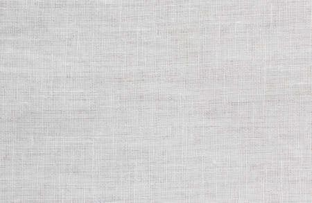 Photo pour White rough linen boho shirt fabric texture swatch - image libre de droit