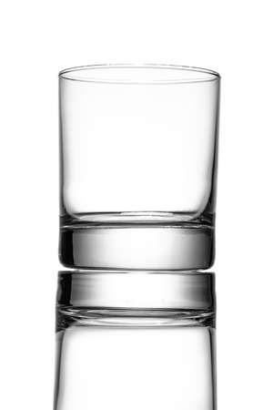 Photo pour Whskey Tumbler Glass in back lit - image libre de droit