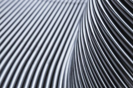 Photo for Abstract steel chrome pipe background - Royalty Free Image