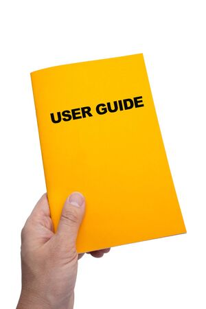 User Guide with white background