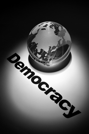 globe, concept of Democracy