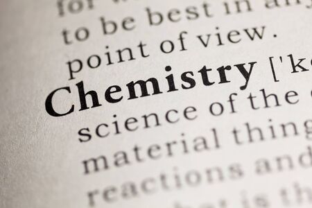 Fake Dictionary, Dictionary definition of the word Chemistry.