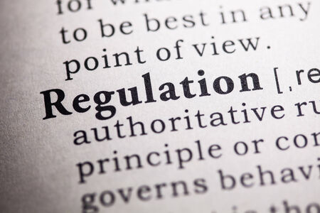 Fake Dictionary, Dictionary definition of the word regulation