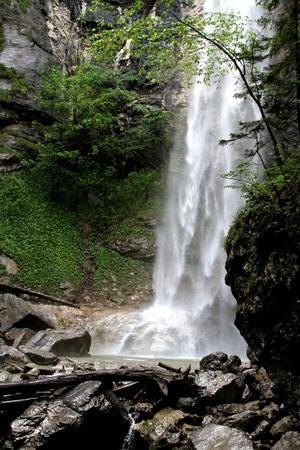 Waterfall in Aschau - Bavari