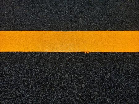 Photo pour Road traffic paint on the asphalt surface And to ensure safety - image libre de droit