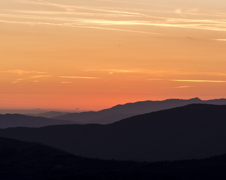 Foto per Layers of mountains - Immagine Royalty Free