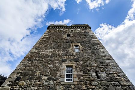 Foto per Blackness castle tower - Immagine Royalty Free