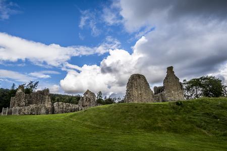 Foto per Kildrummy Castle ruins - Immagine Royalty Free