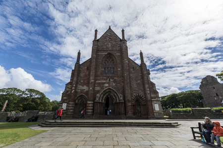 Foto per Kirkwall St. Magnus Cathedral, Orkney islands - Immagine Royalty Free
