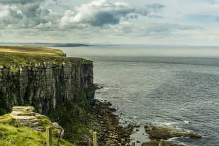 Dunnet head cliffs, scottish highlands
