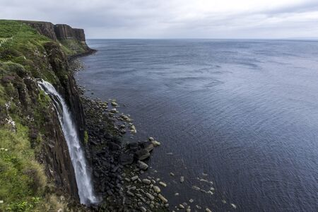 Foto per Kilt rock view Isle of Skye - Immagine Royalty Free