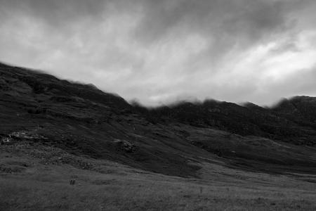 Foto per Glen Coe dramatic cloudy sky - Immagine Royalty Free