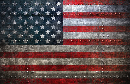 Photo for USA flag textured United Stats of America - Royalty Free Image