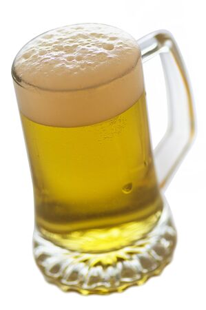 Beer-Objects on white background