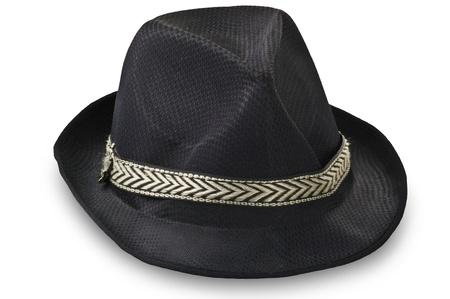 Foto de Borsalino hat on the white - Imagen libre de derechos
