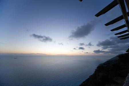 Naturstrand auf der Insel Lefkas in Griechenland aufgenommen