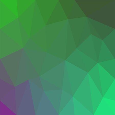 Ilustración de Abstract rainbow background consisting of colored triangles - Imagen libre de derechos