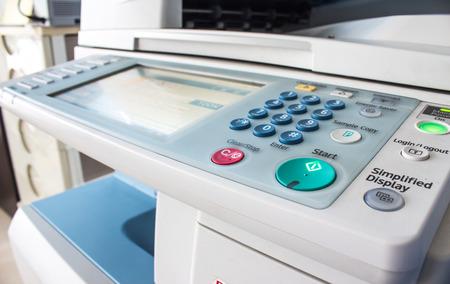 copy machine buttons