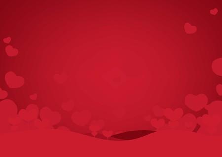 Illustration for Happy Valentine's days of background. vector illustration - Royalty Free Image