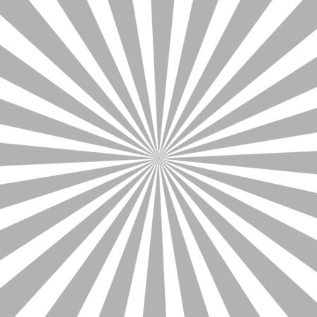 Illustration for White and black ray burst style background vector design - Royalty Free Image