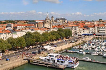 Vieux port de La Rochelle, France