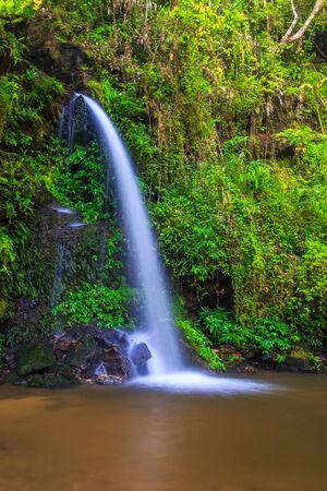 Monta than waterfall in Chiang Mai Asia Thailand