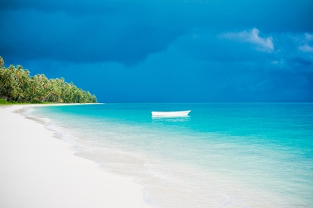 Desert island beach, Banyak Archipelago, Indonesia, Asia