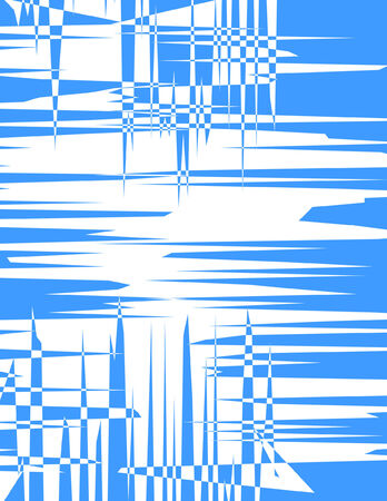 Blue Spiky Background