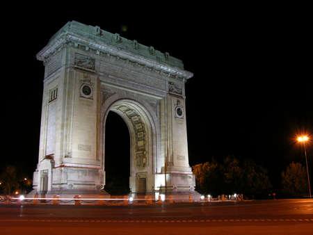 Photo pour Arc De Triomphe - image libre de droit