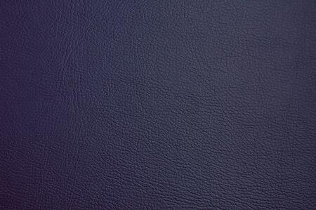 Photo pour faux leather texture. dark blue color. macro photo - image libre de droit