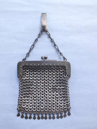 silver money bag