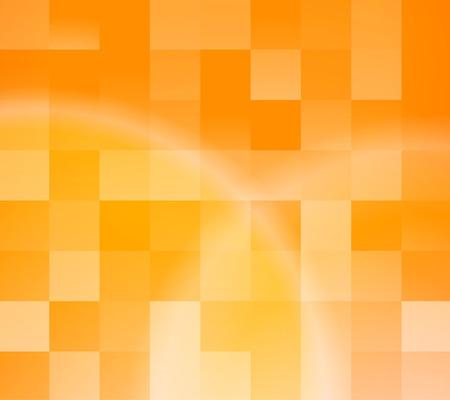 Illustration for Abstract orange tiles background. illustration - Royalty Free Image
